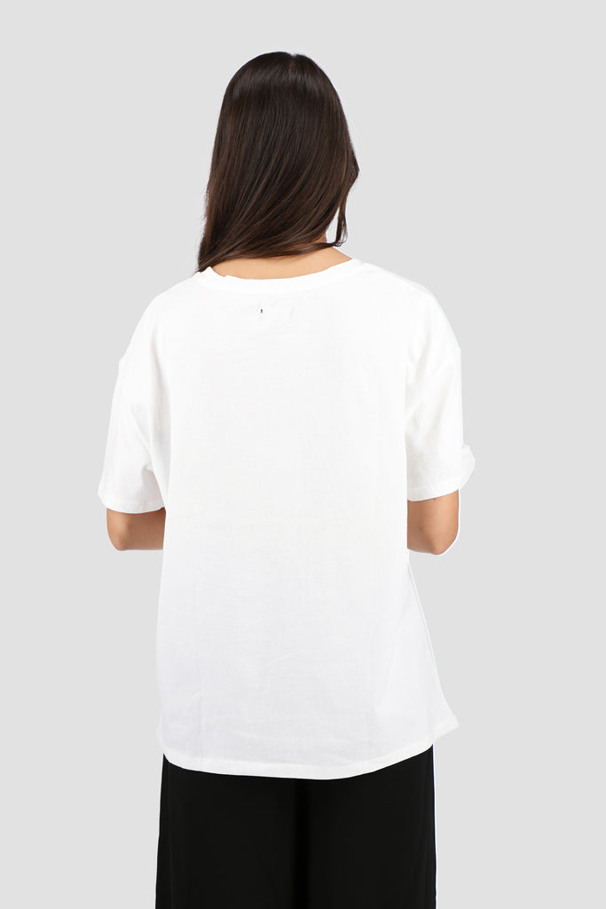 White Baggy T-Shirt