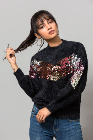 DARK TONE SWEATER