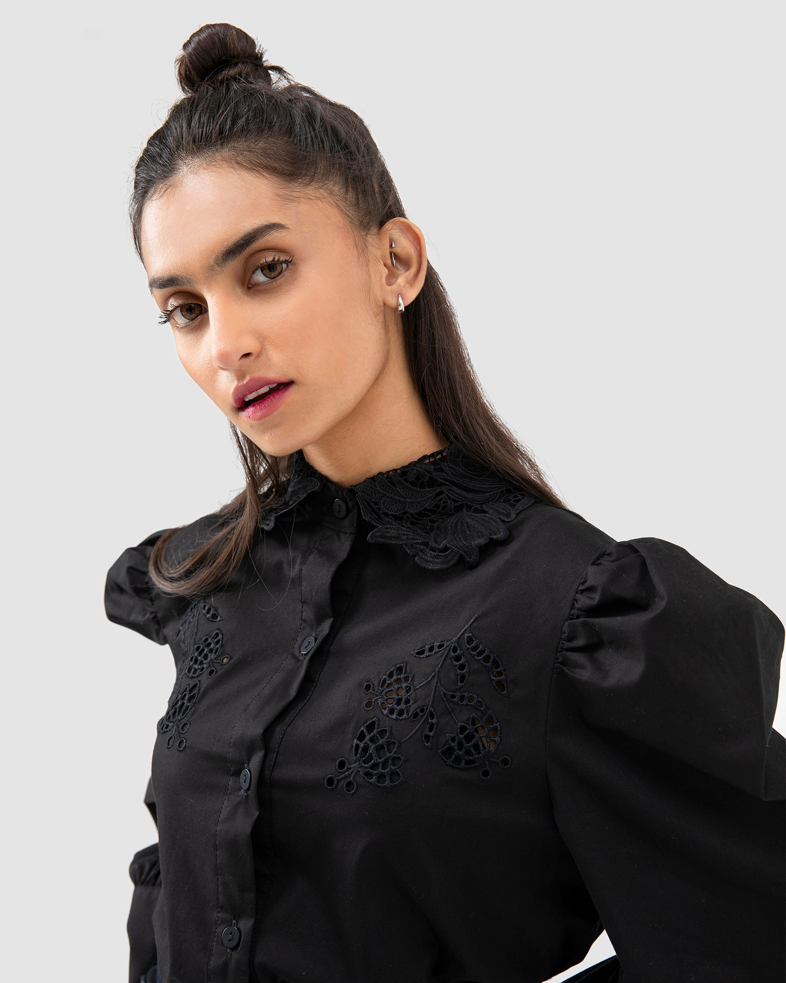 Designed Schiffli Blouse