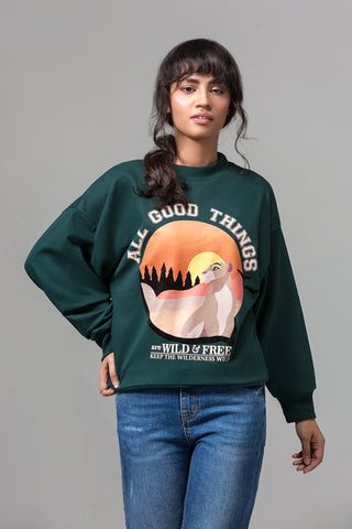 """ALL GOOD THINGS"" SWEATSHIRT"