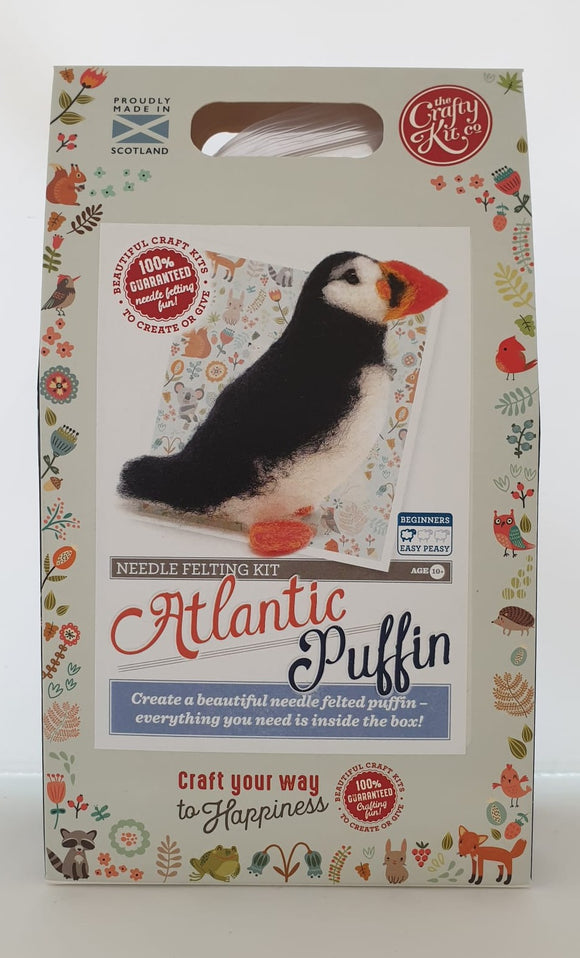 Needle Felting Kit - Puffin