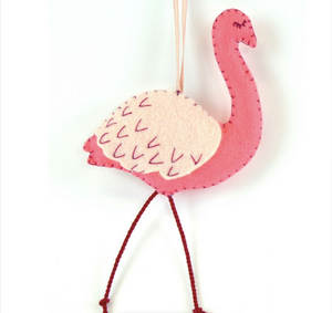 Mini Felt Kit - Flamingo