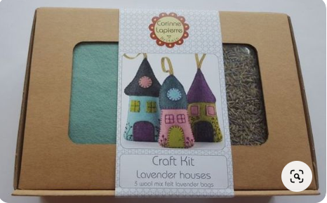 Lavender Houses - Felt Craft Kit