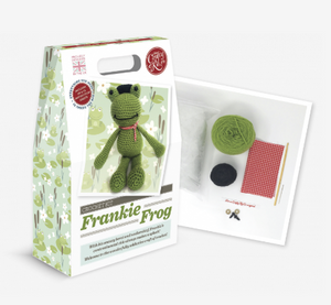 Crochet Kit - Frankie Frog