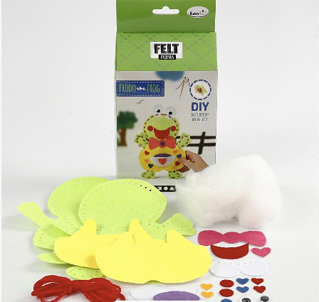 Frodo Frog Felt Monster Kit