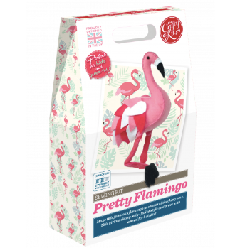 Pretty Flamingo Sewing Kit