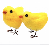 Needle Felting Kit - Easter Chicks