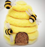Needle Felting Kit - Bee Hives