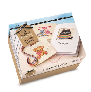 Cross Stitch Card Kit