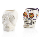 Pottery - Large Sugar Skull Mug