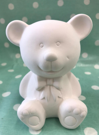 Pottery - Teddy Bear Money Box