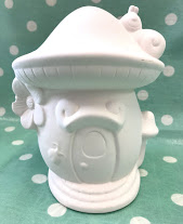 Pottery - Fairy House Money Box