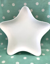 Pottery - Star Plate