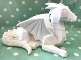 Pottery - Faceted Dragon