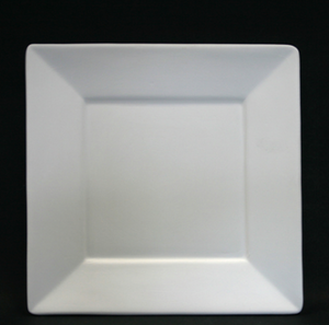 Pottery - Square Rimmed Plate