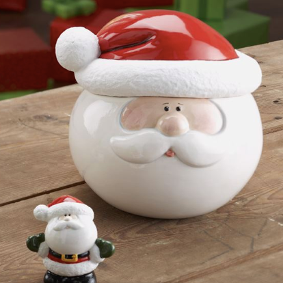 Pottery - Extra Large Santa Cookie Jar