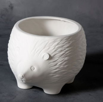 Pottery - Hedgehog Planter