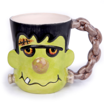 Frankenstein Mug Ceramic Ready to paint