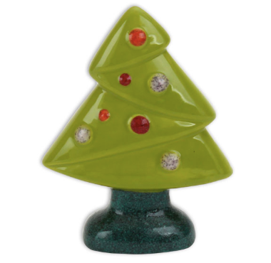 Pottery - Jubilant Christmas Tree