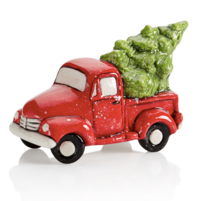 Pottery - Truck with tree