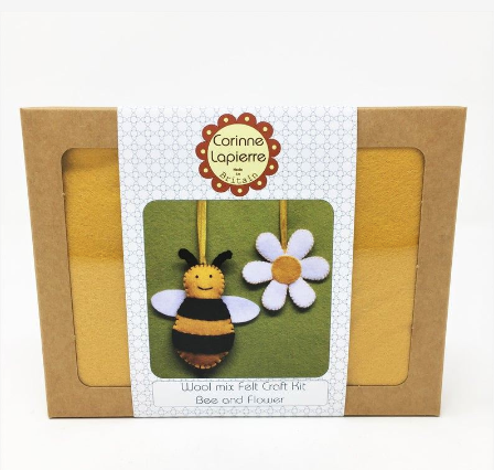 Mini Felt Kit - Bee and flower