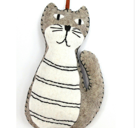 Mini Felt Kit - Grey Cat