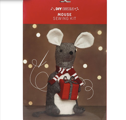 Christmas Mouse Sewing Kit