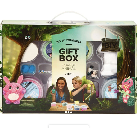 Foam Clay Creative Gift Box (Woodland Animals)
