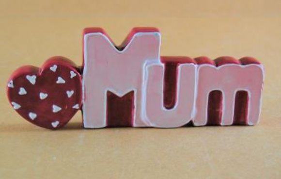 Mum freestanding sign