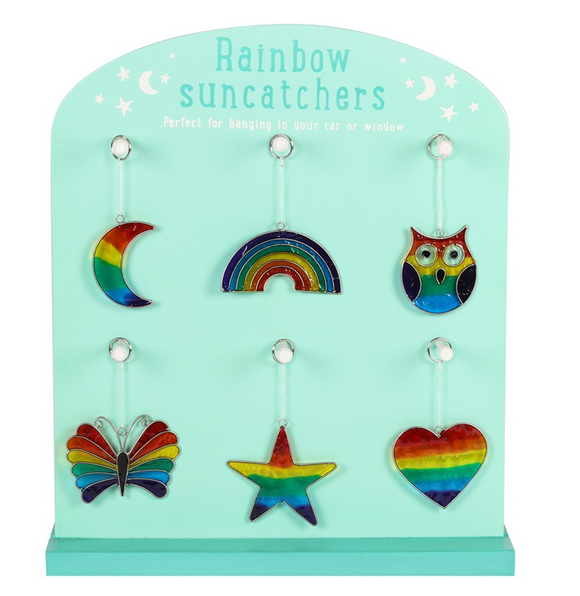Rainbow Sun Catchers from Dixie Dot Crafts