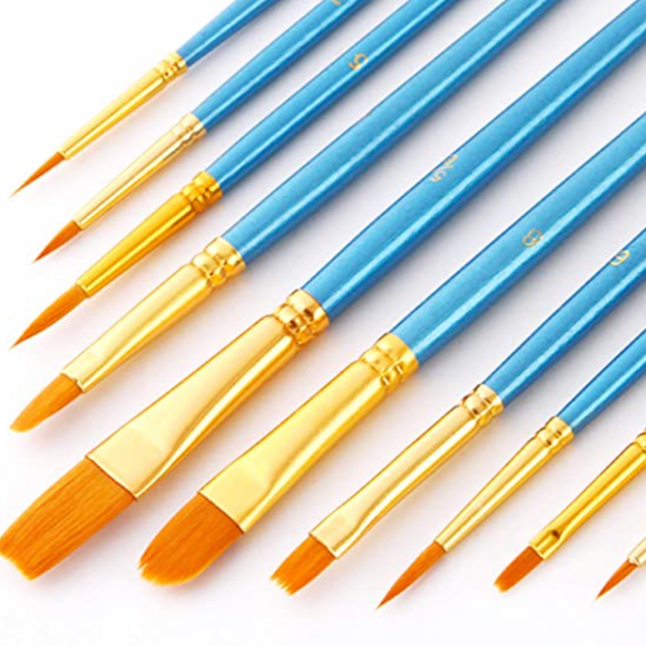 Paint brush set available from Dixie Dot Crafts