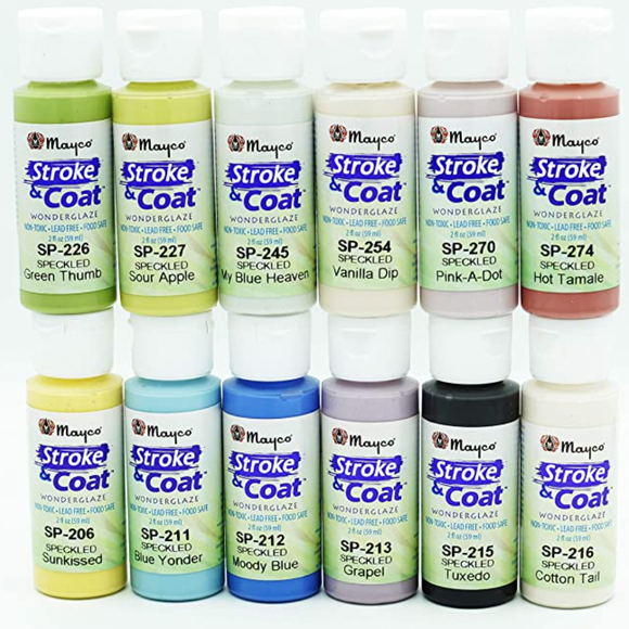 Paint Kit Stroke & Coat from Mayco at Dixie Dot Crafts