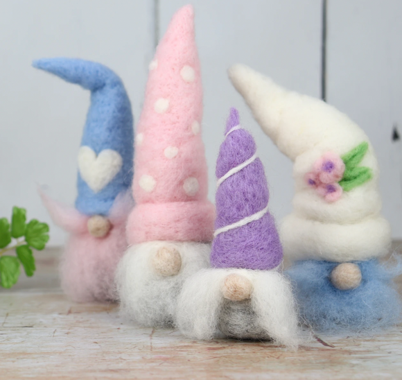Spring Gnomes Needle Felting Kit