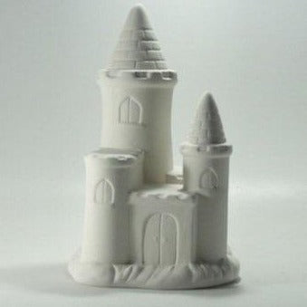 Castle Money Box Ceramic Ready to Paint