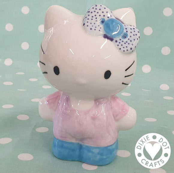 Girl Cat money bank