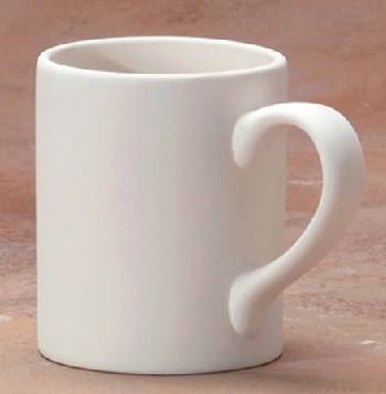 Regular standard Mug ceramic ready to paint