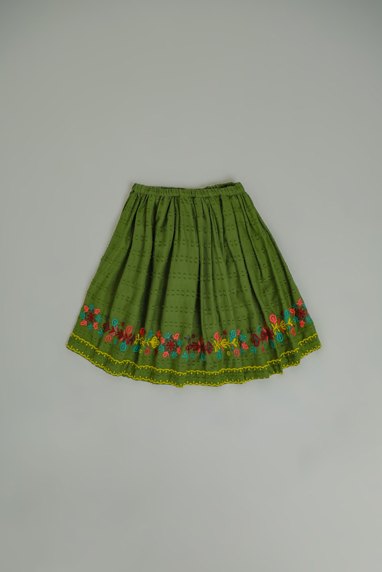 EMBROIDERED SKIRT (GBF203100) - Ethnic by Outfitters