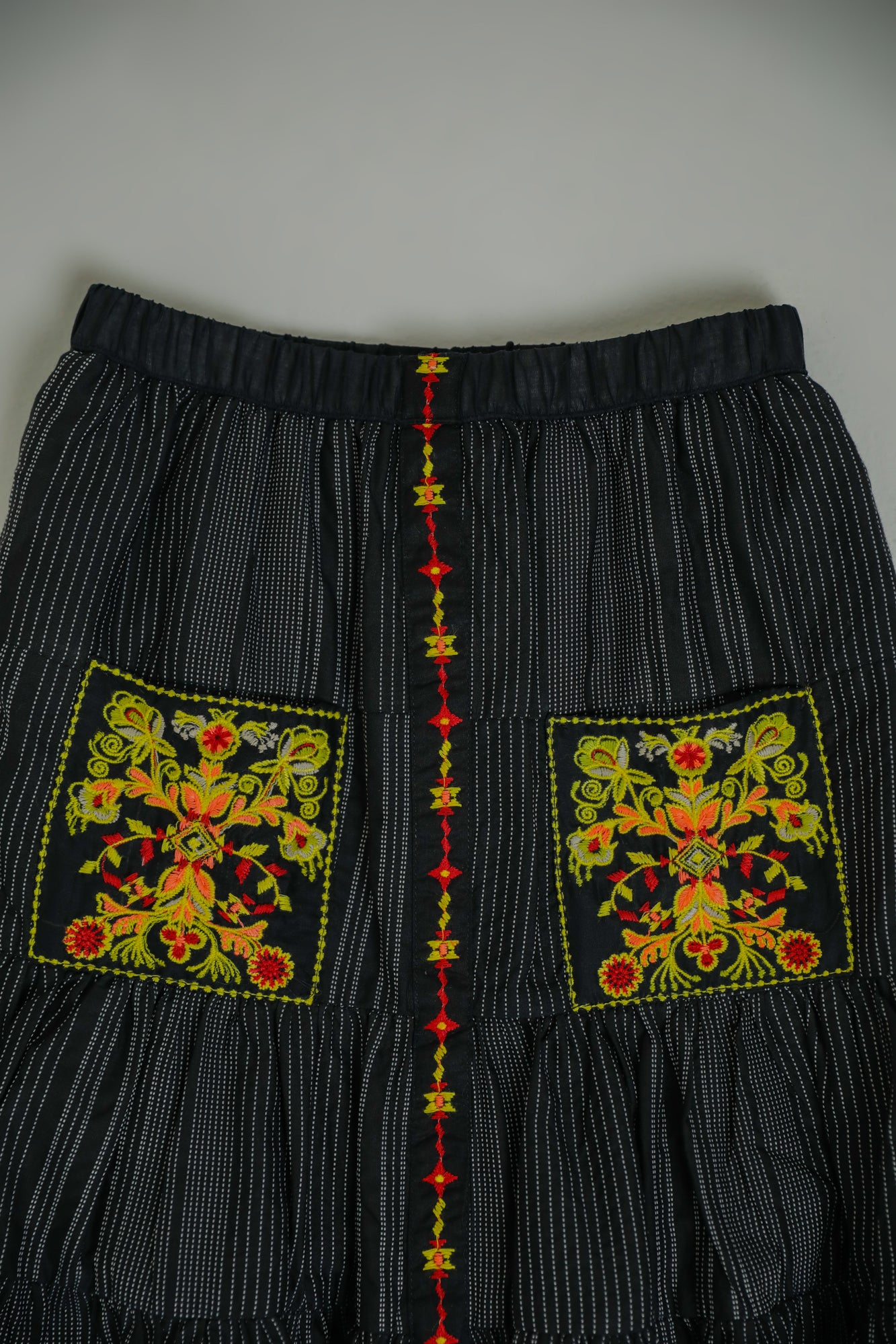 EMBROIDERED SKIRT (GBF203104) - Ethnic by Outfitters