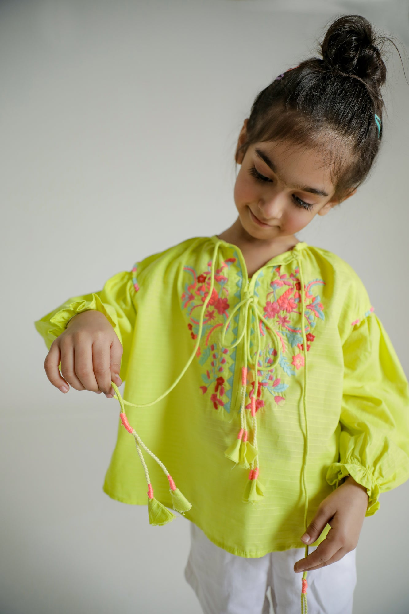 EMBROIDERED TOP (GTF203001) - Ethnic by Outfitters