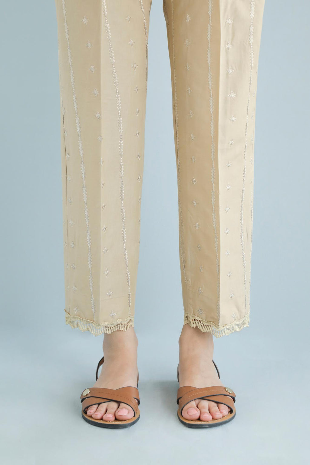 Boutique Trouser (WBB101672) - Ethnic by Outfitters