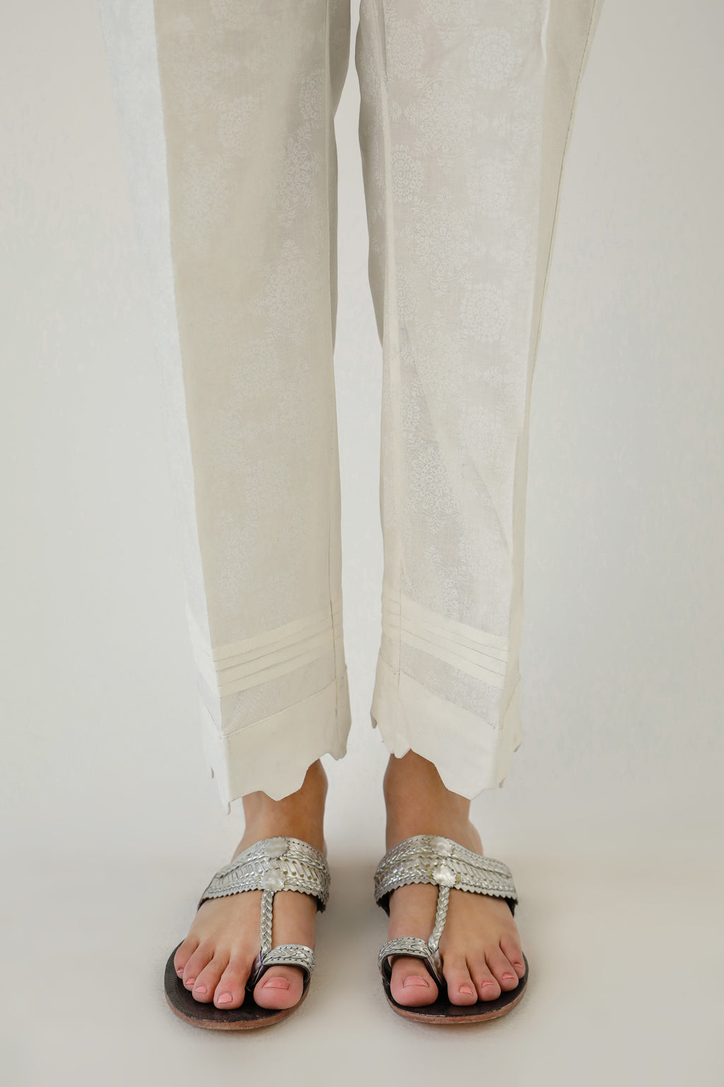 STRAIGHT FIT TROUSER (WBC111202) - Ethnic by Outfitters