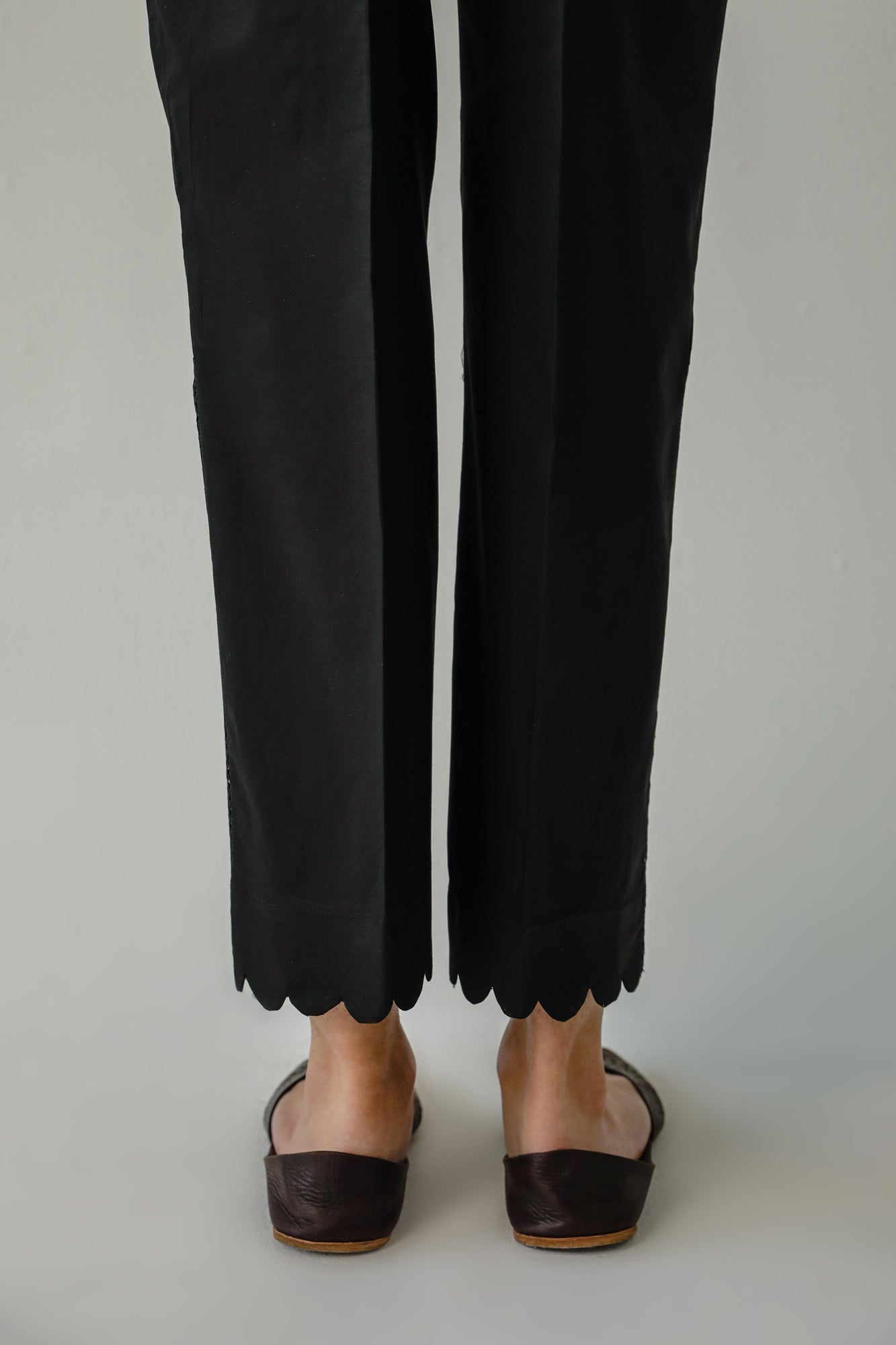 STRAIGHT FIT TROUSER (WBC111205) - Ethnic by Outfitters