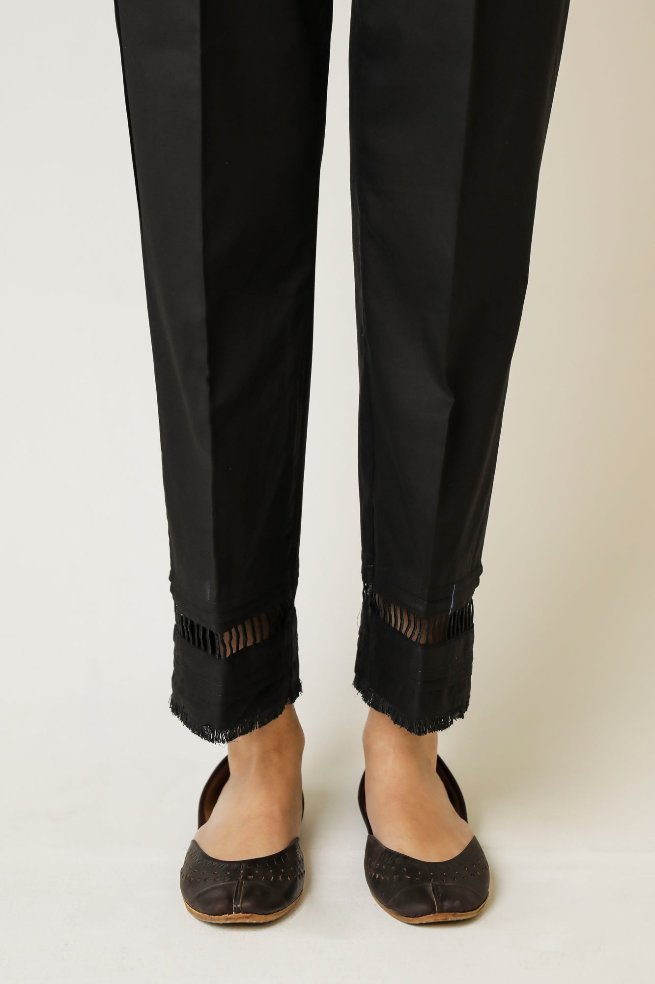 STRAIGHT FIT TROUSER (WBC111210) - Ethnic by Outfitters