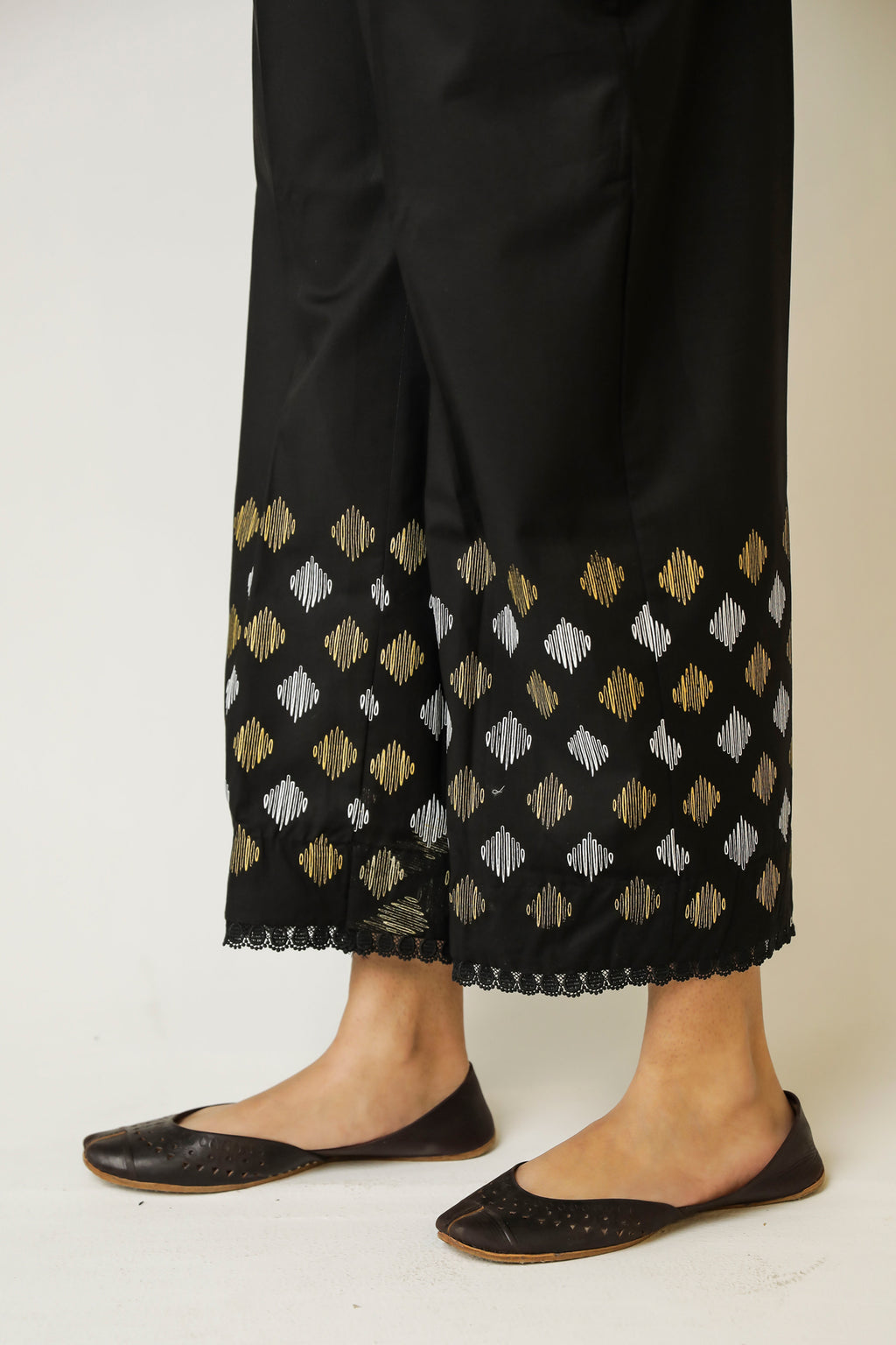 LOOSE STRAIGHT TROUSER (WBC111217) - Ethnic by Outfitters