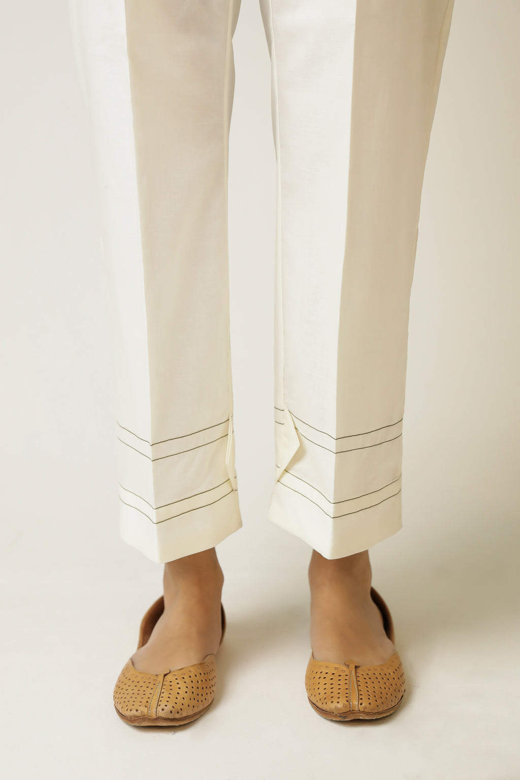 STRAIGHT TROUSER (WBC111225) - Ethnic by Outfitters