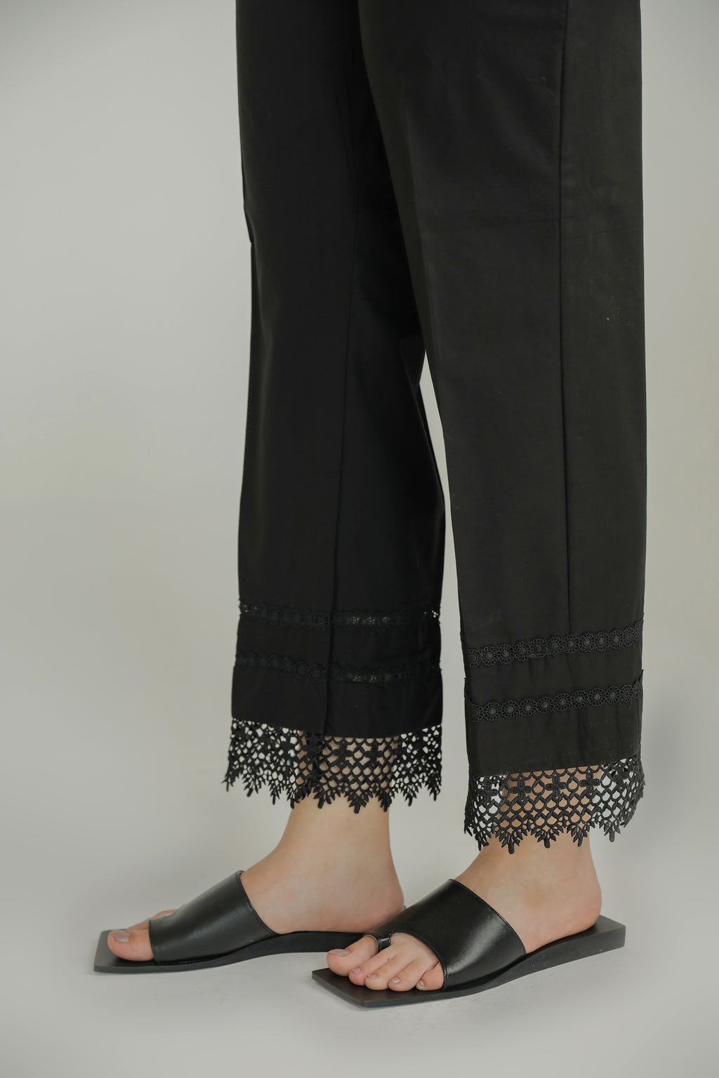 STRAIGHT TROUSER (WBC211103) - Ethnic by Outfitters