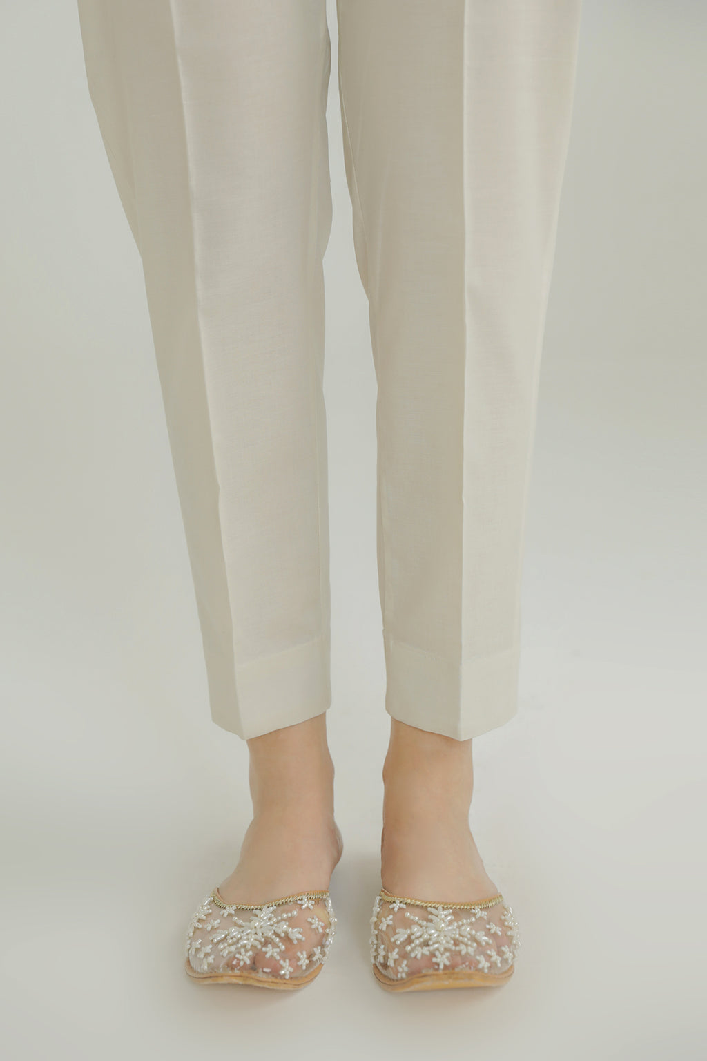 TAPPERED TROUSER (WBC211113) - Ethnic by Outfitters