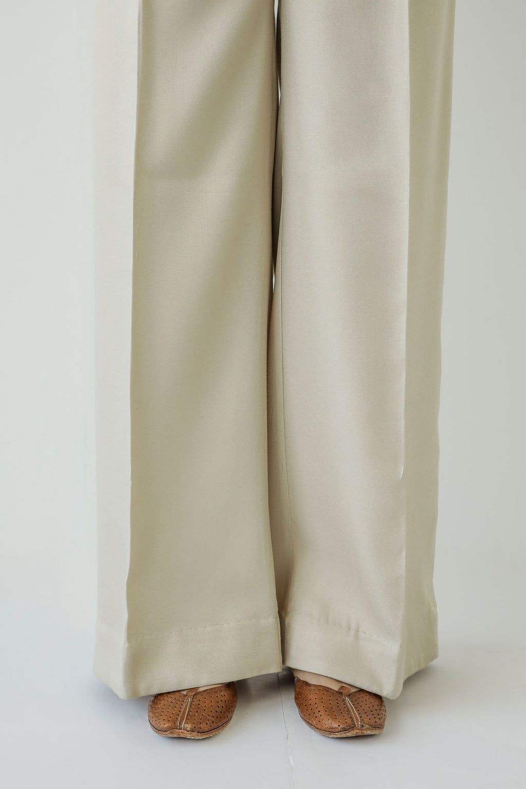 STRAIGHT CASUAL TROUSER (WBC401146) - Ethnic by Outfitters
