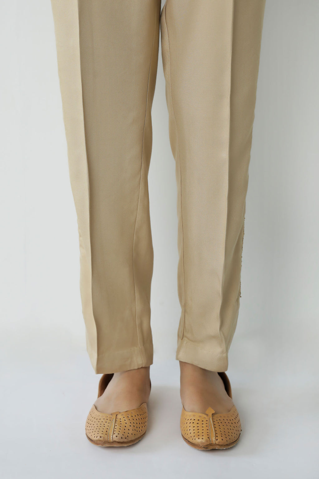 CURVED HEM CASUAL TROUSER (WBC401147) - Ethnic by Outfitters