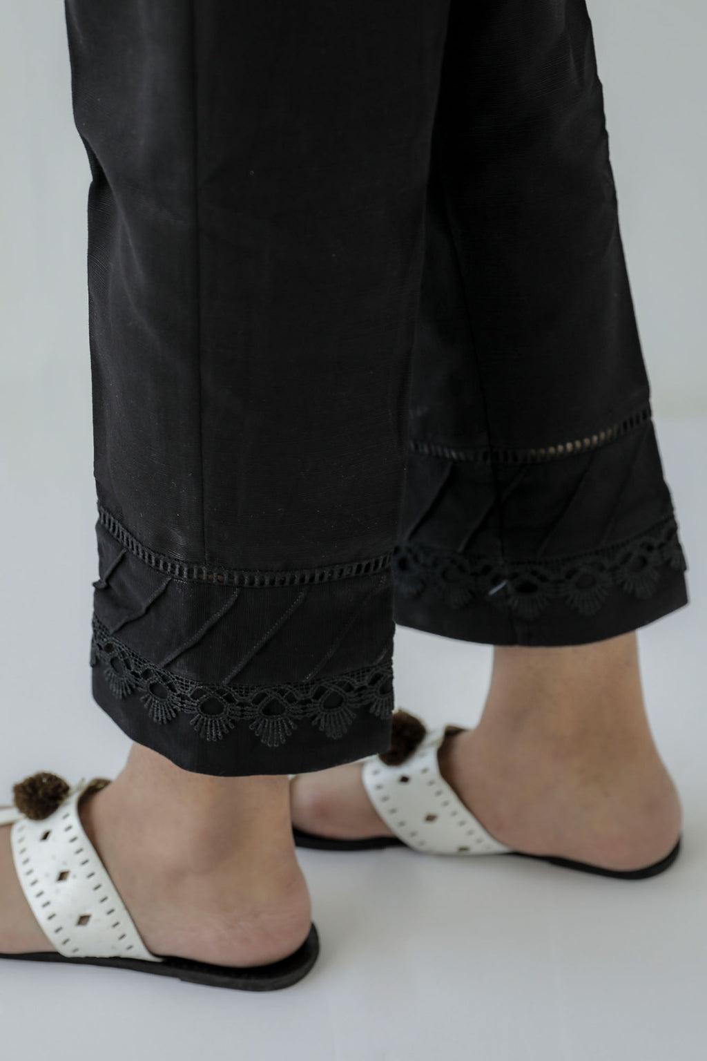 TAPPERED CASUAL TROUSER (WBC401153) - Ethnic by Outfitters